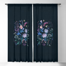 Bees Garden Blackout Curtain