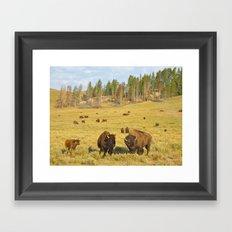 Buffalo Soldiers 2 Framed Art Print