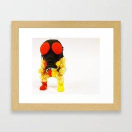 FLY GUY Framed Art Print