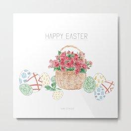 Festive Easter  Metal Print