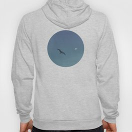 The seagull and the moon Hoody