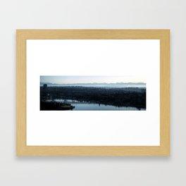 Seattle Panorama Framed Art Print