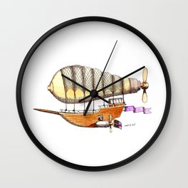 Mother Ship Wall Clock