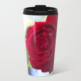 Rose Heart Travel Mug