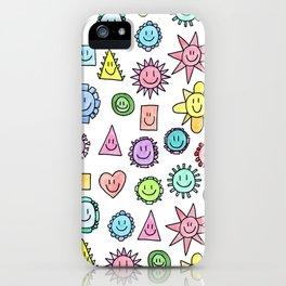 Happy happy happy iPhone Case