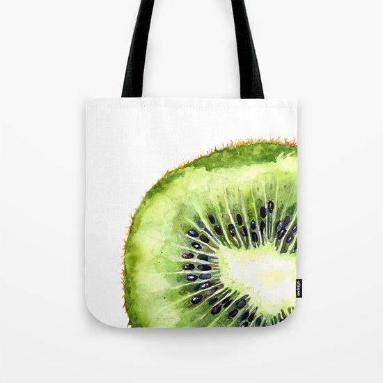 Kiwi Slice Tote Bag