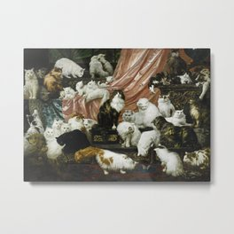 My Wife's Lovers - Carl Kahler Metal Print
