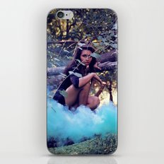 From the majesty she rises iPhone & iPod Skin