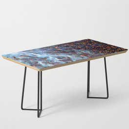 Painted Large Magellanic Cloud Coffee Table