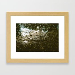 Where the Sun Reaches Framed Art Print