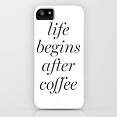 Coffee iPhone (5, 5s) Slim Case