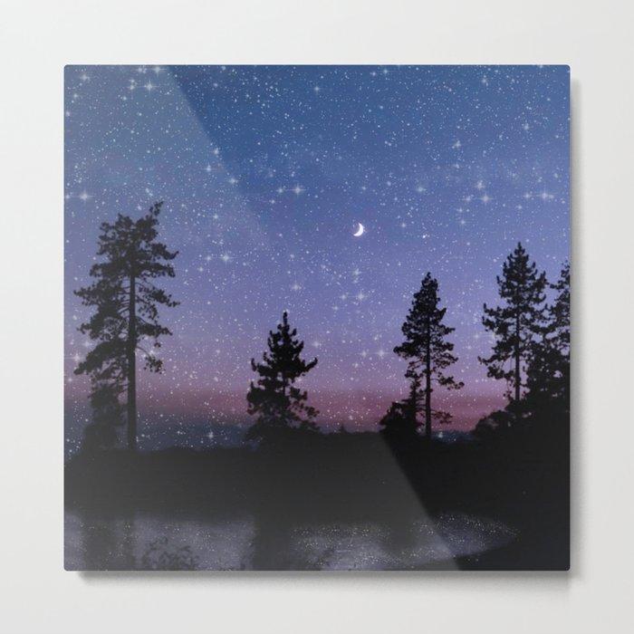 Twilight Forest Metal Print