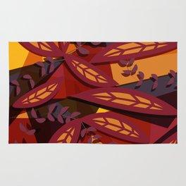 Vintage Autumn Rug