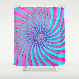 Spiral Vortex G232 Shower Curtain