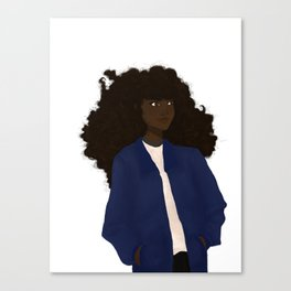 Witch pal Canvas Print