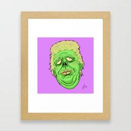 Bigly Framed Art Print