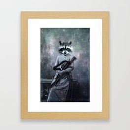Gangster Framed Art Print