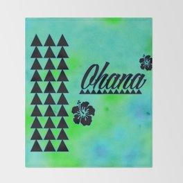 My Ohana Throw Blanket