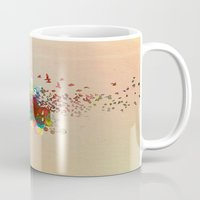 colombia Mugs featuring Colombia by LinaG