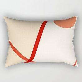 Rising Sun In Grand Canyon Rectangular Pillow