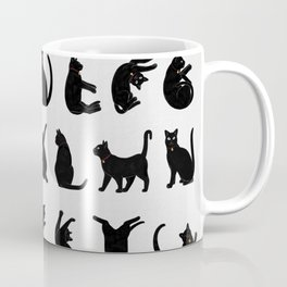 Alphabet Cats Kaffeebecher