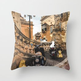 City Cats Throw Pillow