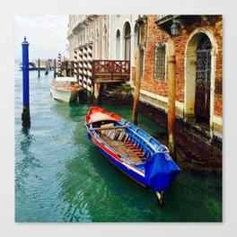 Venice Boat Canvas Print