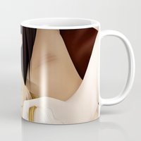 yaoi Mugs featuring Untitled - Yaoi by Sandra Höfer