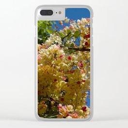Wilhelmina Tenney Rainbow Shower Tree Clear iPhone Case