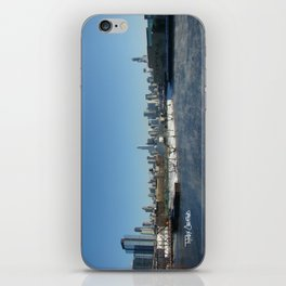 Chicago Skyline from North Ave. iPhone Skin
