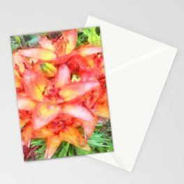 Helen's Lilies Watercolor Stationery Cards
