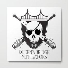 Queen's Bridge Mutilators Metal Print