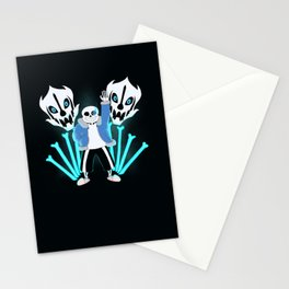 Sans the Skeleton Stationery Cards