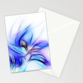 Night Bloom Invert Stationery Cards