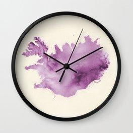 Iceland v3 Wall Clock
