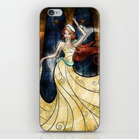 mandie manzano iPhone & iPod Skins featuring Once upon a December by Mandie Manzano