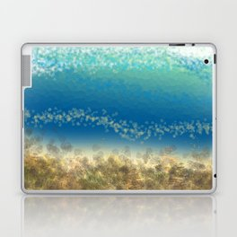 Abstract Seascape 04 wc Laptop & iPad Skin
