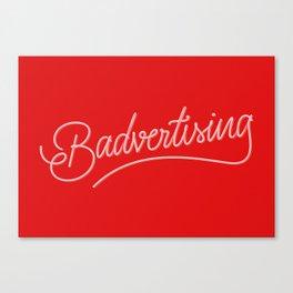 Badvertising Canvas Print