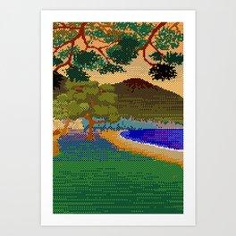 Landscape VII Art Print