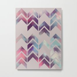 Chevron Dream Metal Print