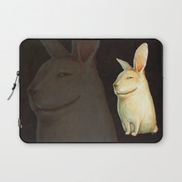 smile rabbit Laptop Sleeve