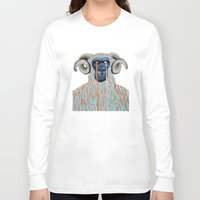 sweater Long Sleeve T-shirts featuring Gorilla Sweater by Prince Pat