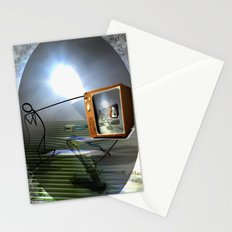 Cable TV Stationery Cards