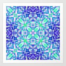 Ethnic Tribal Pattern G322 Art Print
