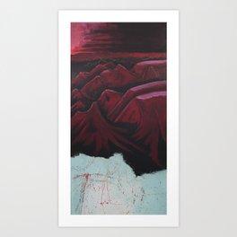The Plateau Art Print