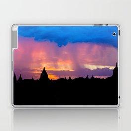 Sunset in Bagan, Myanmar Laptop & iPad Skin