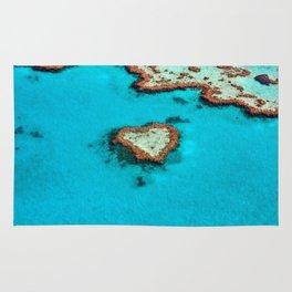 Heart Coral Reef - Queensland, Australia Rug