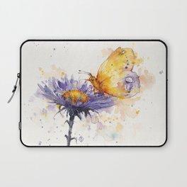 Flowers & Flutters Laptop Sleeve