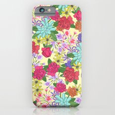 Summer Bouquet Slim Case iPhone 6s