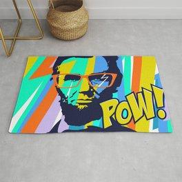 HIPSTER LINCOLN POP ART Rug